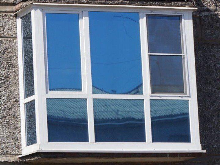 """Балкон пвх с тонировкой от компании """"домокон""""."""